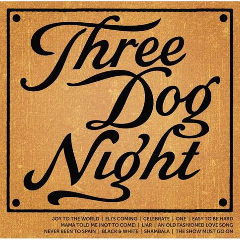 Icon CD by Three Dog Night 1Disc