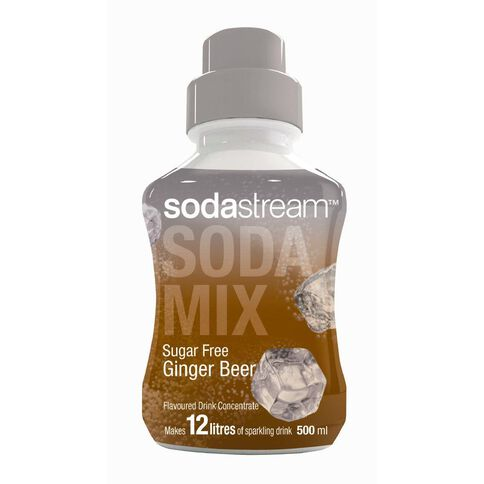 Sodastream Syrup Sugar Free Ginger Beer 500ml