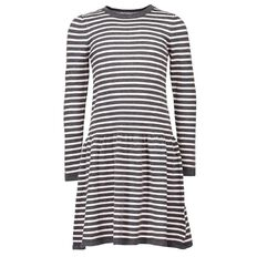 A'nD Long Sleeve Stripe Dress