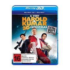 A Very Harold and Kumar Christmas Blu-ray + 3D Blu-ray 2Disc