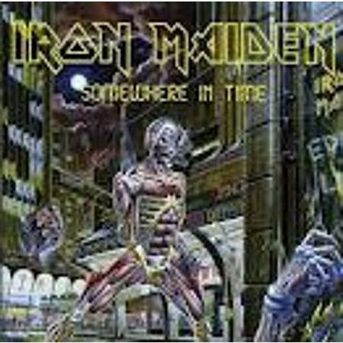 Somewhere Time CD by Iron Maiden 1Disc