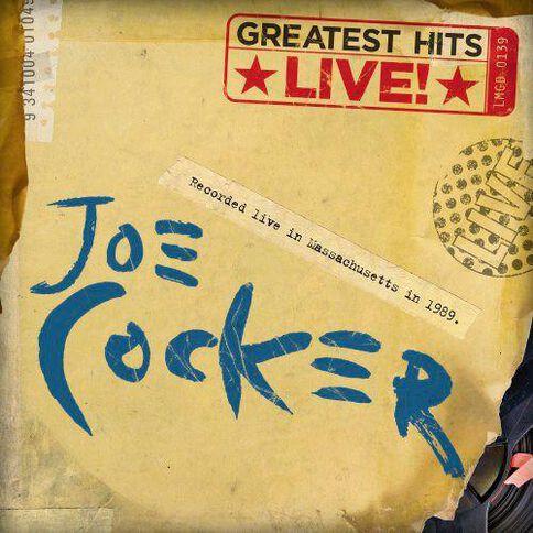 Greatest Hits Live CD by Joe Cocker 1Disc