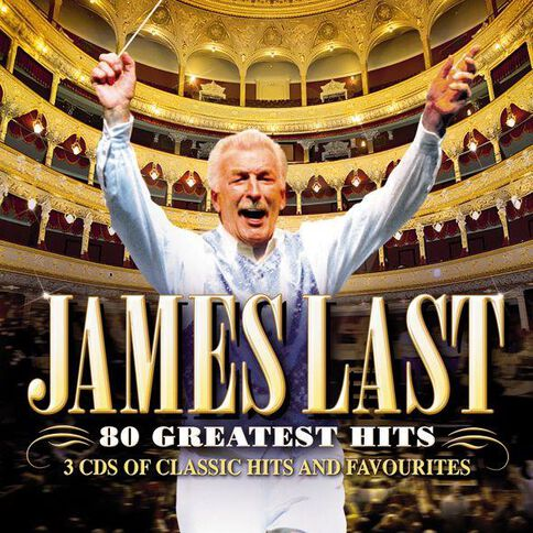 80 Greatest Hits CD by James Last 3Disc
