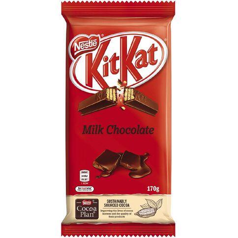 Nestle Kit Kat Milk Choc Block 170g