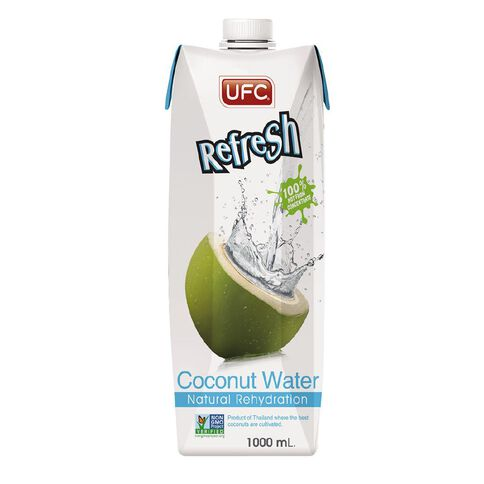 UFC Coconut Water 100% Natural 1 LTR 1L