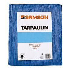 Samson Tarpaulin Blue 70gsm 8ft x 10ft