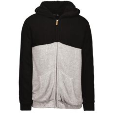 Match Panel Sherpa Lined Sweatshirt