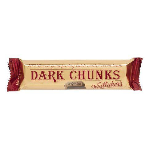Whittaker's Dark Chunk 50g