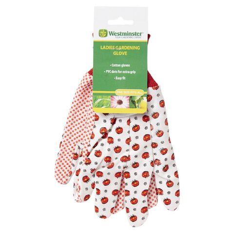 Westminster Floral Gloves Assorted Colours
