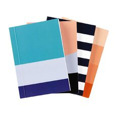 Deskwise Softcover Notebook A7 4 Pack