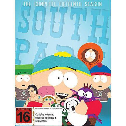 South Park Season 15 DVD 3Disc