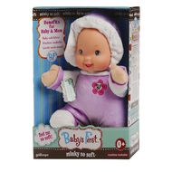Baby's First Minky Doll Assorted Colours