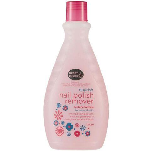 Health Basics Acetone Nail Polish Remover