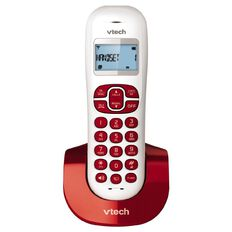 Vtech ES2110A Cordless Phone Red