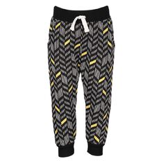 Hippo + Friends Toddler Girl All Over Print Trackpants