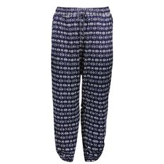 Kate Madison Printed Harem Pants