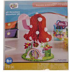 New Craft Kits 3D Fairy House Activity Kit
