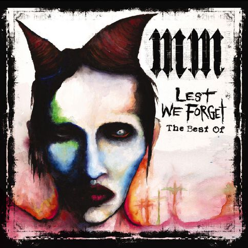 Lest We Forget The Best of CD by Marilyn Manson 1Disc
