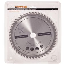 Samson Mitre & Table Saw Blade 48T 250mm