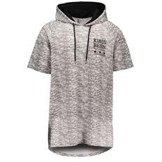 Urban Equip Marle Printed Short Sleeve Hoodie