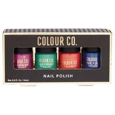 Colour Co. Nail Polish Bright Colours 4 Pack