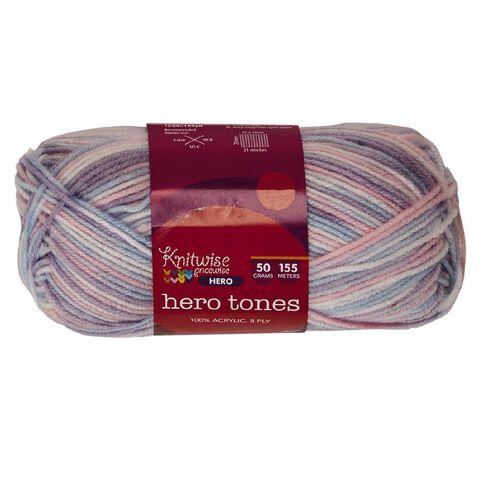 Knitwise Hero Yarn Hero Tones 8-Ply Blushing Babe 50g