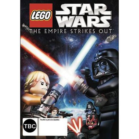 Star Wars LEGO The Empire Strikes Out DVD 1Disc