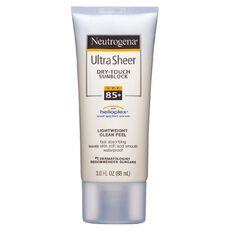 Neutrogena Ultra Sheer Dry Touch Sunscreen SPF85+ 88ml