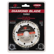 Carborundum Turbo Diamond Blade 105mm