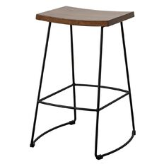 Living & Co Barstool Elm Wood