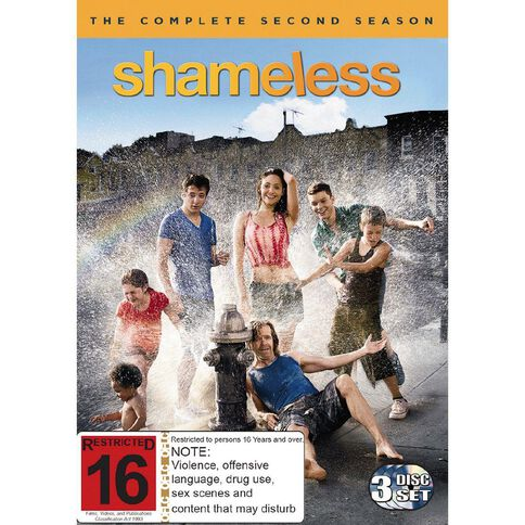 Shameless Season 2 DVD 3Disc