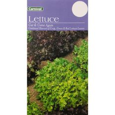 Carnival Seeds Lettuce Cut and Come Again