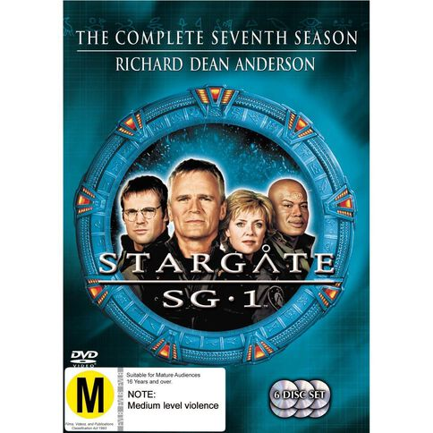 Stargate SG1 Season 7 DVD 6Disc