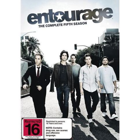 Entourage Season 5 DVD 3Disc