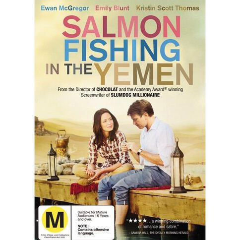 Salmon Fishing In The Yemen DVD 1Disc