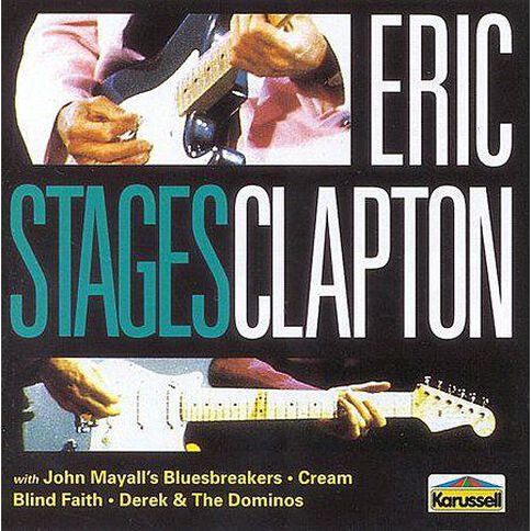 Stages CD by Eric Clapton 1Disc
