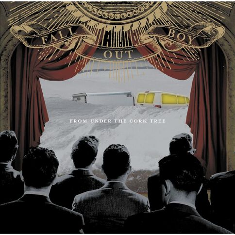 From Under The Cork Tree CD by Fall Out Boy 1Disc