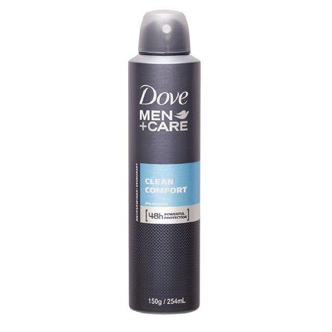 Dove Men's Antiperspirant Clean Comfort 250ml