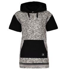 WZ Short Sleeve Side Zips Sweatshirt