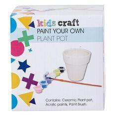 Kids' Art & Craft Paint Your Own Plant pot