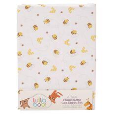 Lullaboo Flannelette Sheet Set Unisex