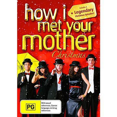 How I Met Your Mother Christmas DVD 1Disc