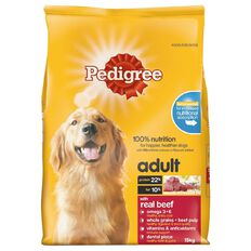 Pedigree Meaty Bites Beef and Vegetables 15kg