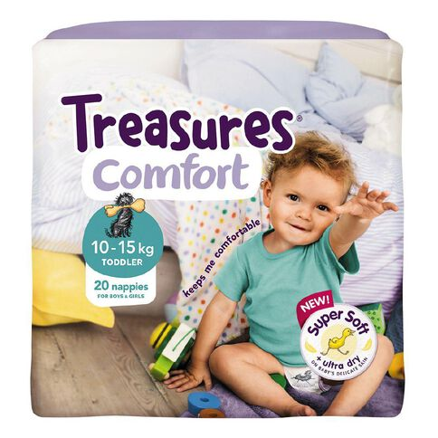Treasures Standard Toddler 20 Pack