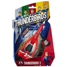 Thunderbirds Vehicle TB1 or TB3 Assorted