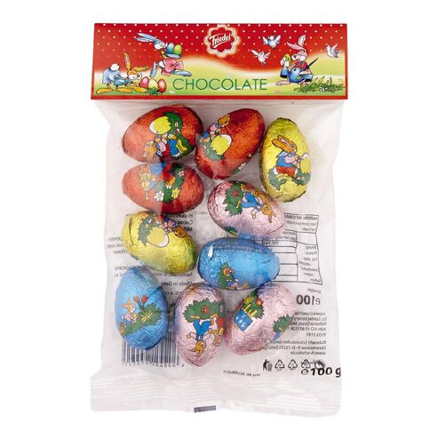 Friedel Milk Chocolate Hollow Eggs in Bag 100g