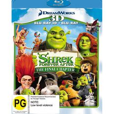 Shrek Forever After Blu-ray + 3D Blu-ray 2Disc