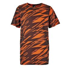 Active Intent Boys' All Over Print Cooldry Tee
