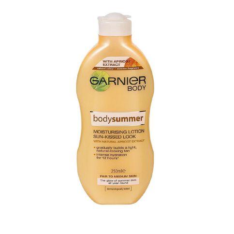 Garnier Bodysummer Fair to Med Skin 250ml