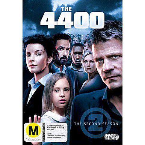The 4400 Season 2 DVD 4Disc